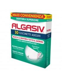 Algasiv 30 Cuscinetti Adesivi Protesi Superiore